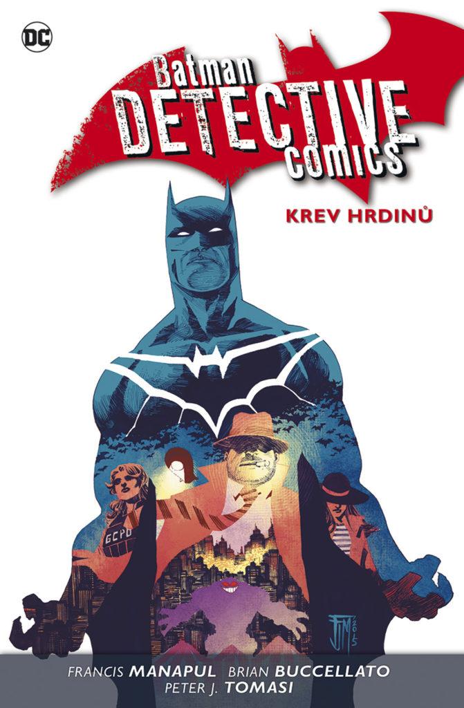 Batman Detective Comics 8, Krev hrdinů, komiks